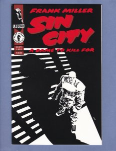 Sin City A Dame To Kill For #1 NM- Frank Miller Dark Horse 1993