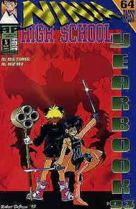 Ninja High School Yearbook #5 VF/NM; Malibu | save on shipping - details inside