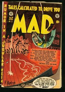 MAD COMICS #10-EC-HARVEY KURTZMAN 1954 WALLY WOOD G