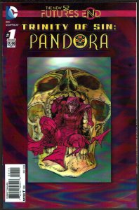 Futures End Trinity of Sin Pandora 3-D Cover (2014, DC) 9.6 NM+