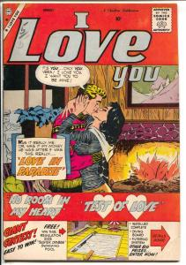 I Love You #24 1959-Charlton-fireside romance cover-lingerie-Colletta-VG/FN