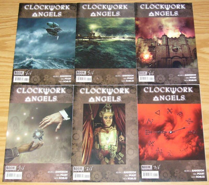 Clockwork Angels #1-6 VF/NM complete series inspired by NEIL PEART of RUSH band