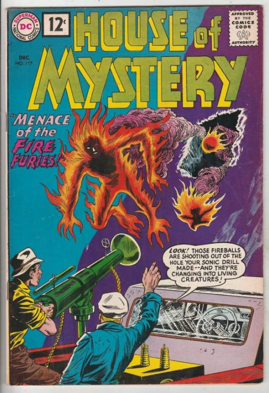 House of Mystery #117 (Dec-61) FN/VF+ Mid-High-Grade