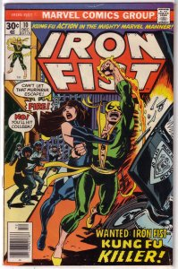Iron Fist   vol. 1   #10 GD