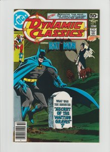 Dynamic Classics #1 (1978) NM- 9.2 Starring Batman