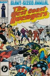 West Coast Avengers Annual #2 FN; Marvel | save on shipping - details inside