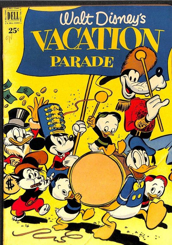 Walt Disney's Vacation Parade #2 FN/VF 7.0