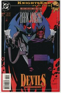 Batman Legends Of The Dark knight #62 Azrael July 1994 DC