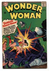 WONDER WOMAN #163 comic book 1966-DC-Silver-Age