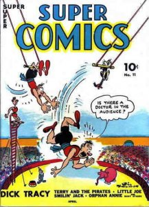 Super Comics #11 POOR; Dell   low grade comic - save on shipping - details insid