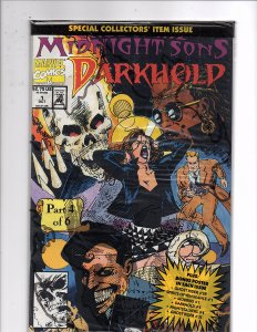 Marvel Comics Darkhold #1  Rise of the Midnight Sons Un-opened w/Poster
