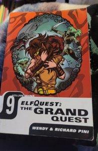 elfquest grand quest manga vol 9
