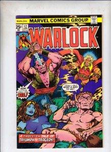 Warlock #12 (Apr-76) VF/NM- High-Grade Adam Warlock