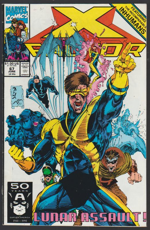 X-FACTOR #67  MARVEL COMICS 1991