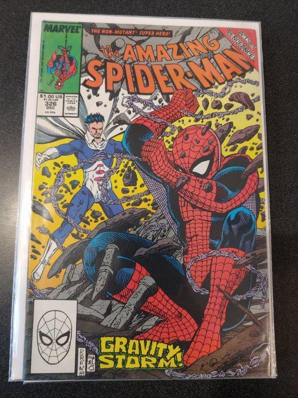 The Amazing Spider-Man #326 NM Gravity Storm