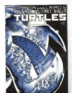 Teenage Mutant Ninja Turtles # 2 VF/NM Mirage Studios Comic Book 1st Print J460