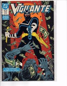 DC Comics Vigilante #42 Peacemaker Negative Woman