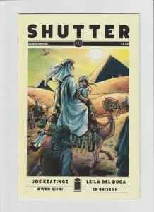Shutter #1 NM (2014, Image Comic) High Grade! Hard to Find 2nd Print!!