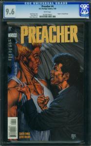 PREACHER #4-CGC 9.6-1995-WP-GARTH ENNIS/STEVE DILLON 0228274003