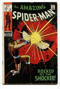 AMAZING SPIDER-MAN #72 1969-MARVEL-SILVER-AGE-VG-
