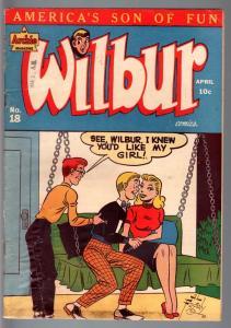 WILBUR #18-1948-ARCHIE COMICS-GOLDEN AGE COMIC-VG VG