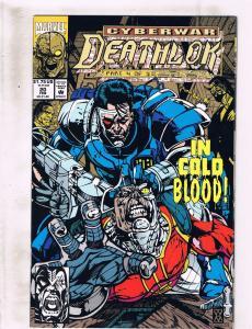 Lot of 5 Deathlok Marvel Comic Book #19 20 21 22 23 KS2