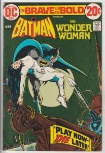 Brave and the Bold, The #105 (Feb-73) FN/VF Mid-High-Grade Batman, Wonder Woman