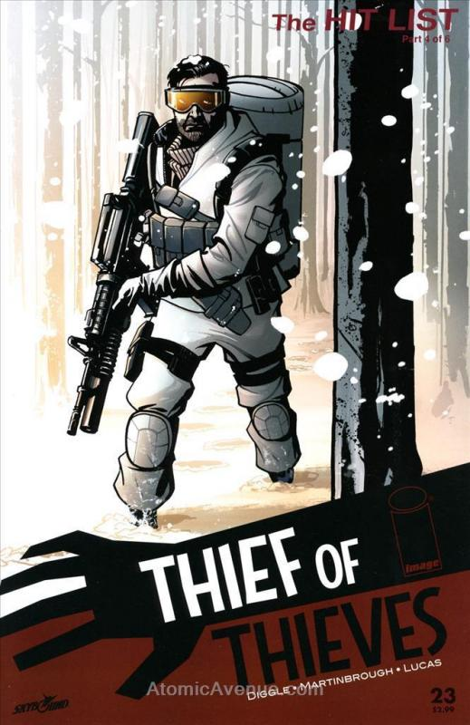 Thief of Thieves #23 VF/NM; Image | save on shipping - details inside