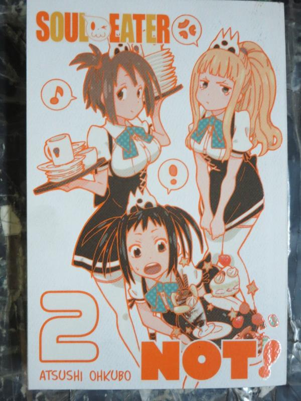 Soul Eater Not! 2 by Atsushi Ohkubo Based on the Hit Anime! Weapon Meisters!