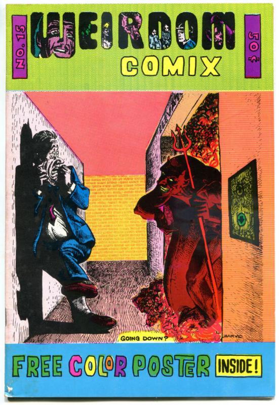 WEIRDOM COMIX 15, FN/VF, Richard Corben, Underground, 1972, 1st,more UG in store