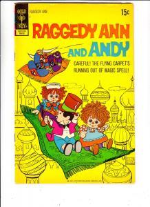 Raggedy Ann and Andy #2 (Mar-72) FN/VF Mid-High-Grade Raggedy Ann, Andy, Marc...