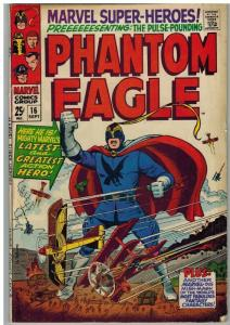 MARVEL SUPER HEROES 16 VG PHANTOM EAGLE COMICS BOOK