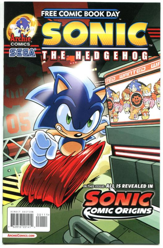 SONIC the HEDGEHOG / MEGAMAN X #1, NM, FCBD, 2014, more Promo / items in store