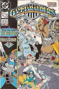 Gammarauders #3 VF/NM; DC | save on shipping - details inside