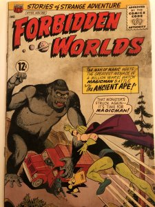 Forbidden Worlds#132, Pete Constanza Art& Simian cover!