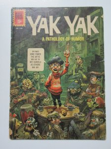 Four Color (Dell 1961) #1186 Yak Yak Pathology of Humor Jack Davis Cover GD