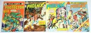 Phoenix #1-4 VG complete series - atlas comics 1975 bronze age super hero 2 3