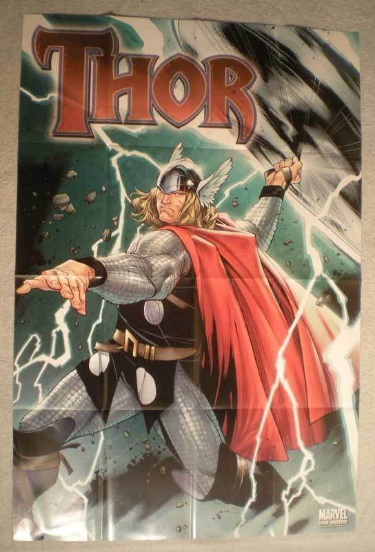 THOR Promo Poster, Thunder God, 24x36, 2006, Unused, more in our store