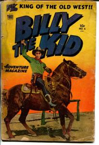 Billy The Kid #6 1951-Toby-photo cover-FR