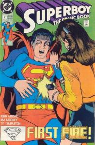 Superboy (1990 series) #2, NM (Stock photo)