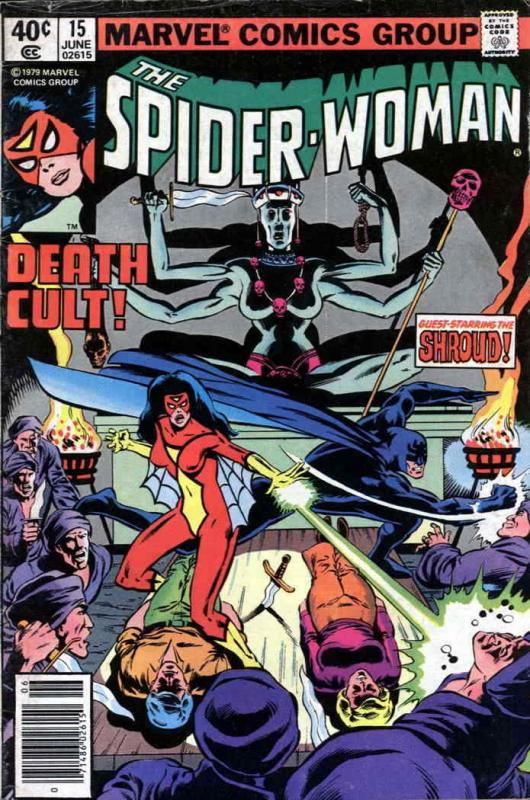 Spider-Woman #15 VF/NM; Marvel | save on shipping - details inside