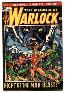 Warlock #1 - Gil Kane 1st issue Marvel MCU 1972 FN