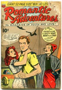 Romantic Adventures #11 1950- Men You Shouldn't Marry- Golden Age G