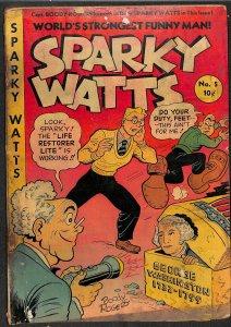 Sparky Watts #5 (1947)