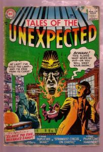 TALES OF THE UNEXPECTED #10 1957-MYSTERY ADVENTURE---DC G