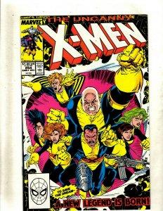 12 Uncanny X-Men Comics #254 255 257 258 259 260 261 262 263 264 265 267 GK42