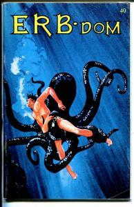 ERB-Dom #40 1970-Edgar Rice Burroughs fanzine-Tarzan-John Carter-FN