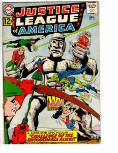 JUSTICE LEAGUE OF AMERICA 15 FINE+ Nov 1962 loose st