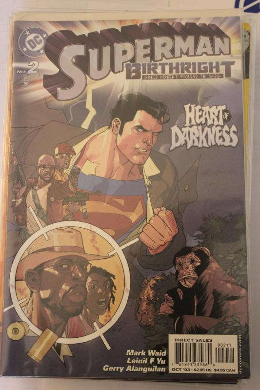 Superman Birthright 2 9-4-nm
