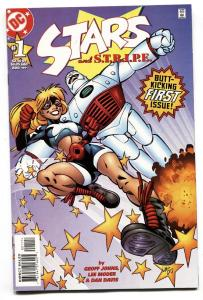 STARS AND S.T.R.I.P.E #1 1999-2nd appearance COURTNEY WHITMORE